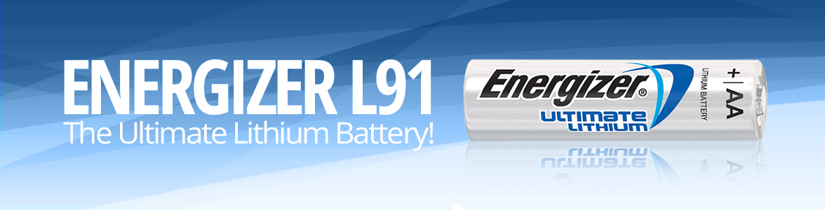 Energizer L91 Batteries